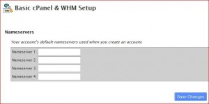 WHM Server Setup for Reseller